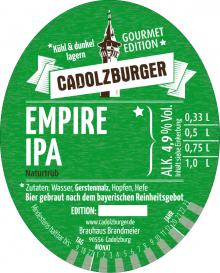 Cadolzburger Empire IPA