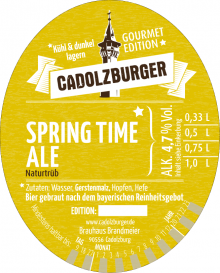 Cadolzburger Spring Time Ale