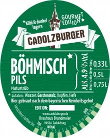 Cadolzburger Böhmisch Pils
