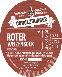 Cadolzburger Roter Weizenbock