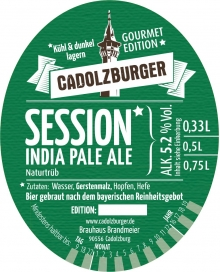 Cadolzburger Session IPA