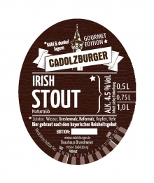 Cadolzburger Irish Stout