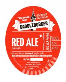 Cadolzburger Red Ale