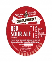Cadolzburger Red Sour Ale