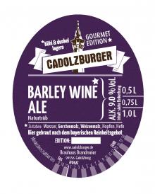 Cadolzburer Barley Wine Ale